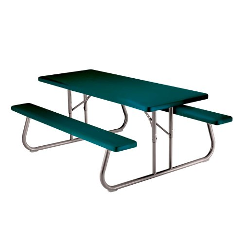 Plastic 6 Ft Foldable Picnic Table